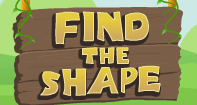 Find the Shape - Shapes - Kindergarten