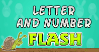 Letter and Number Flash