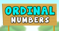 Ordinal Numbers - Whole Numbers - Kindergarten