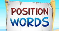 Position Words - Word Games - Kindergarten