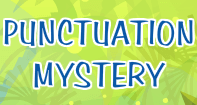 Punctuation Mystery - Sentences - Kindergarten