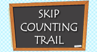 Skip Counting Trail - Whole Numbers - Kindergarten