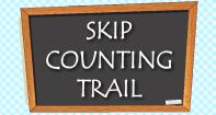 Skip Counting Trail