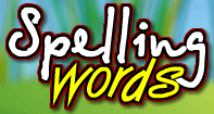 Spelling Words - Word Games - Kindergarten