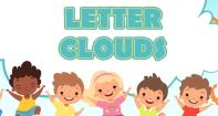 Letter Clouds - Alphabet - Preschool