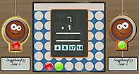 Math Connect 4 Multiplayer - Fun Games - First Grade