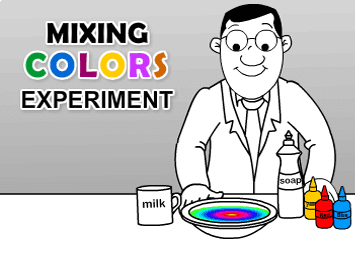 Mixing Colors Experiment