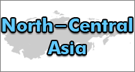 North Central Asia Map - Map Games - Fourth Grade