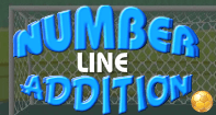 Number Line Addition - Addition - Kindergarten