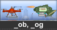 Ob Og Words Typing Aircraft - -ob words - First Grade