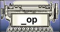 Op Words Speed Typing - -op words - Kindergarten