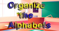 Organize The Alphabets - Alphabet - Preschool