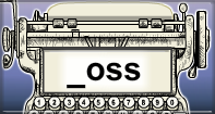 Oss Words Speed Typing - -oss words - Second Grade