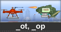 Ot Op Words Typing Aircraft - -op words - Kindergarten