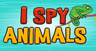 I Spy Animals - Animals - Preschool