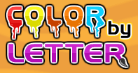 Color by Letter - Alphabet - Preschool