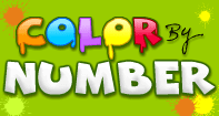 Color by Number - Whole Numbers - Preschool