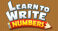 Learn to Write Numbers - Whole Numbers - Preschool