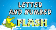 Letter and Number Flash - Fun Games - Preschool