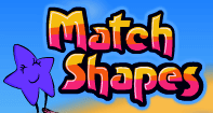 Match Shapes - Geometry - Preschool