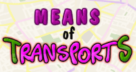 Means of  Transport - Vocabulary - Preschool