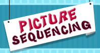 Picture Sequencing - Reading - Preschool