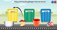 Recycling Waste - Earth and Its Resources - First Grade