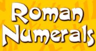 Roman Numerals - Roman Numerals - Third Grade