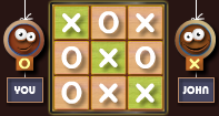 Tic Tac Toe Multiplayer - Logical Puzzle - Third Grade