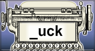 Uck Words Speed Typing - -uck words - Second Grade
