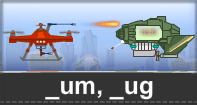 Um Ug Words Typing Aircraft - -um words - First Grade