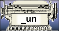 Un Words Speed Typing - -un words - Kindergarten
