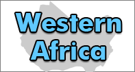 Western Africa Map - Map Games - Fourth Grade