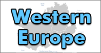 Western Europe Map - Map Games - Fourth Grade
