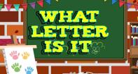What Letter Is It - Alphabet - Preschool