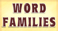 Ack Word Search - Word Family - First Grade