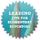 Leading site for Elementary educators badge