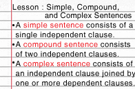 simple compound and complex sentences lesson turtle diary