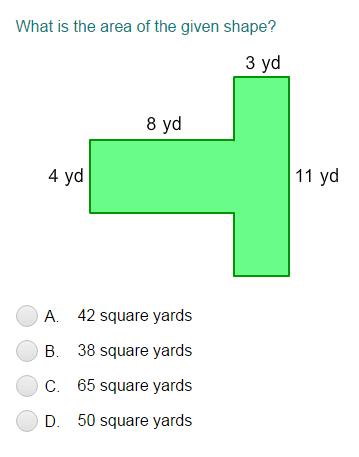 Area of complex figures worksheet pdf
