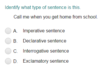 Types of Sentences Worksheets | Englishlinx.com Board | Pinterest ...