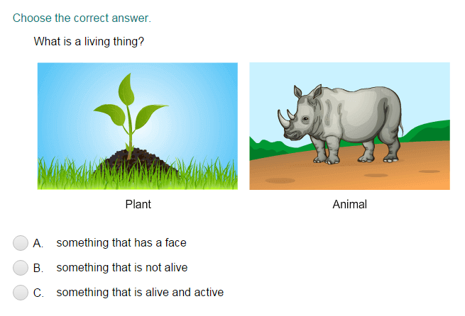 Living and Nonliving Things Quiz - Turtle Diary
