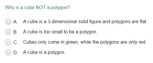What are polygons ?