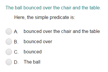 Identifying the Simple Predicate Part 3