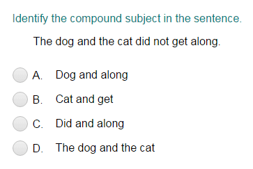 Identifying the Compound Subject part 3