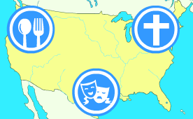 US Food, Culture and Religion