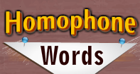 Homophone Words Video