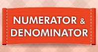 Numerator and Denominator Video