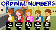 Ordinal Numbers Video
