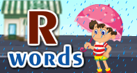 R Words Video