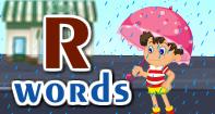 R Words Video